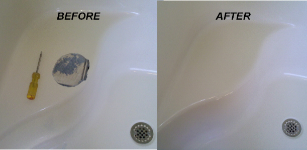 Cultured marble repair - Bathtub Refinishing And Repair In Houston Countertops