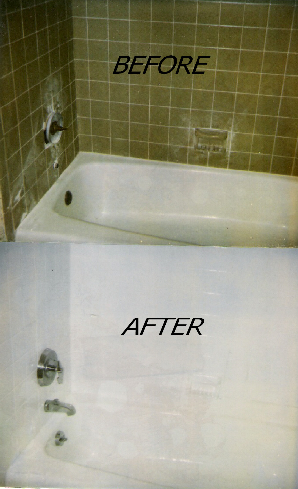 Photo Gallery - Refinished Bathtubs - Sinks - Wall Tile | Countertop ...
