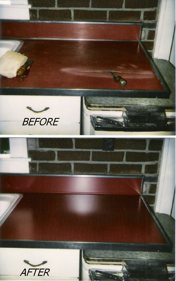 photo gallery refinished repaired countertops