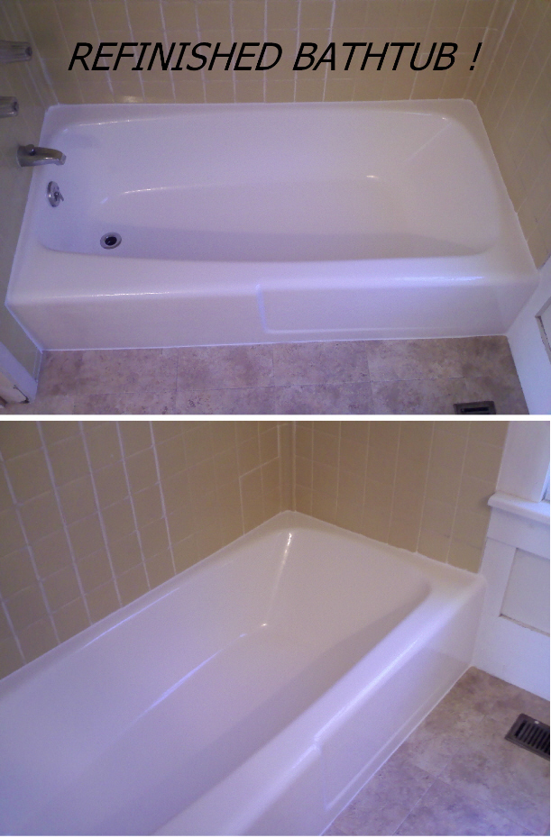 Photo Gallery   Refinished Bathtubs   Sinks   Wall Tile | Countertop And Tub  RE NU